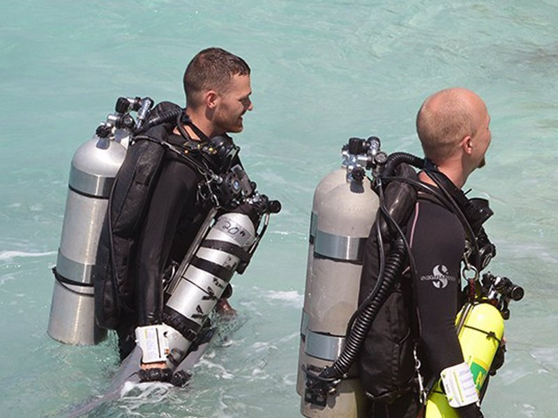 PADI and TDI Technical diver courses