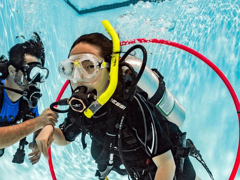 PADI scuba diving for kids