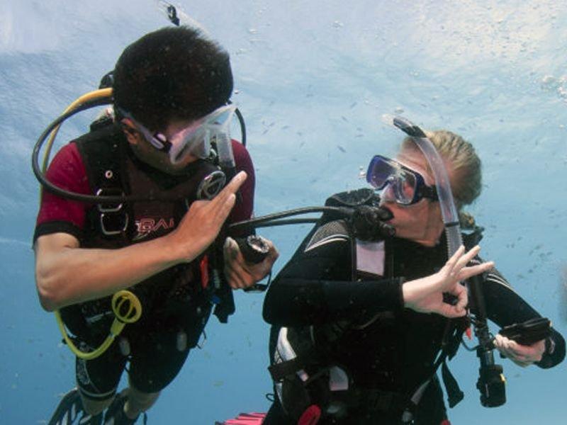 PADI and TDI Diver training