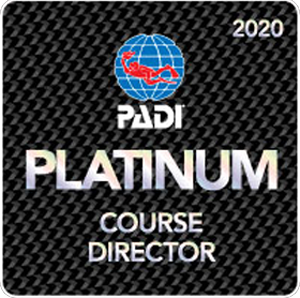 Lee Butler is a PADI Platinum Course Director