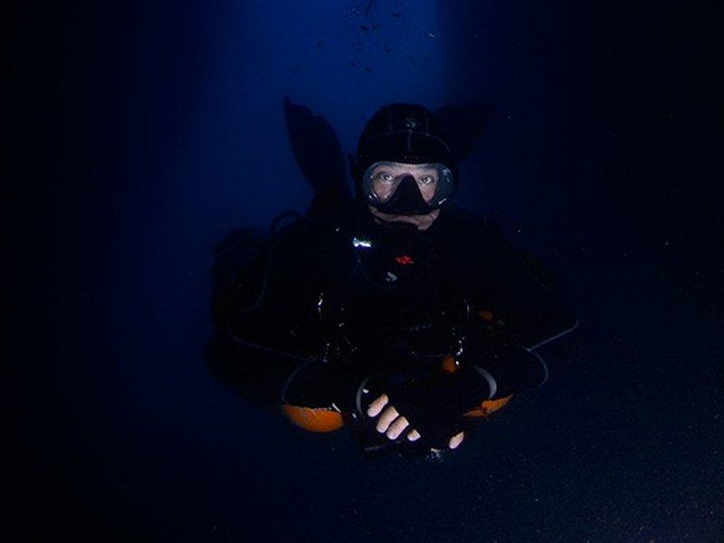PADI and TDI Cavern Diver