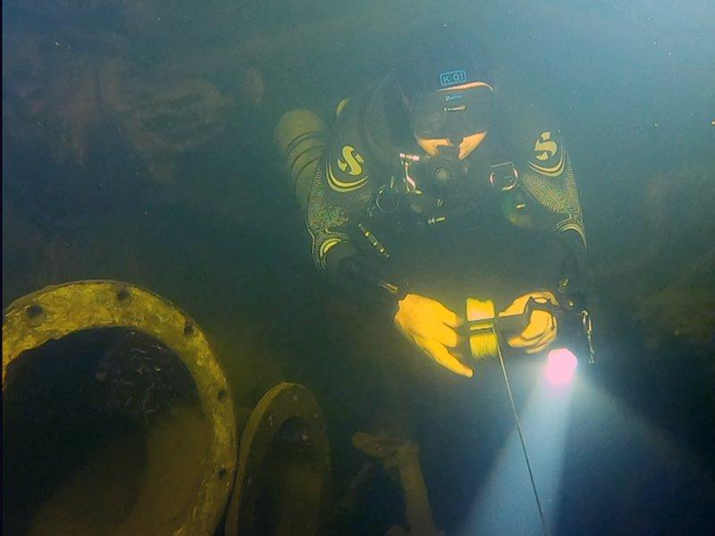 TDI Advanced Wreck Diver