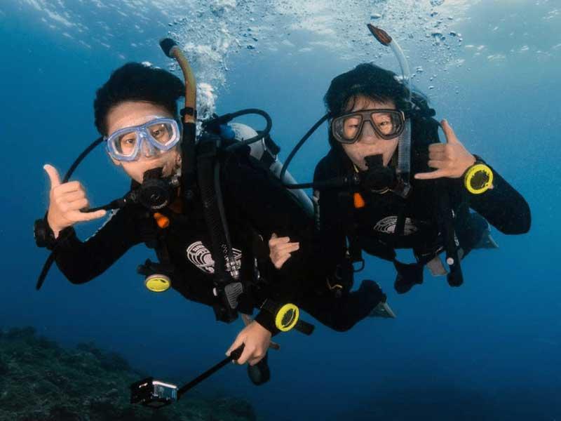 PADI beginner dive courses