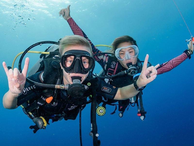 PADI and TDI Diver courses